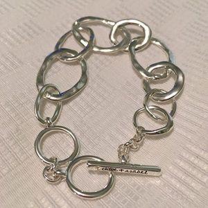 Chloe + Isabel silver interlocking bracelet
